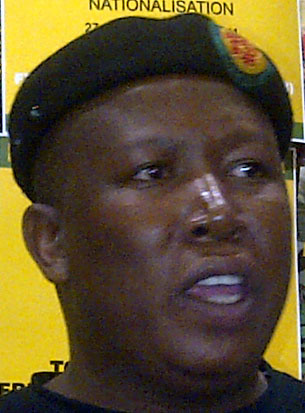 Julius Malema, Head: Youth Wing, African National Congress