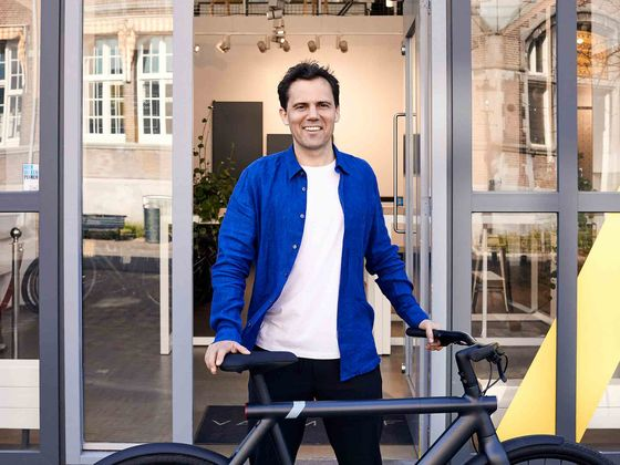 Escape from Pandemic Means Cruising on a Dutch Designer Bike