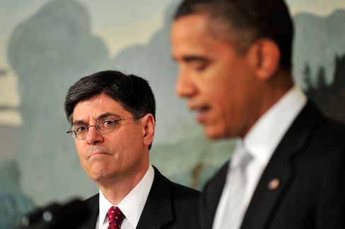 Obama Says Lew Will Continue as 'Master of Policy' at Treasury