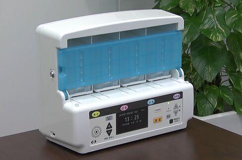 エーザイの服薬支援機器「eお薬さん」