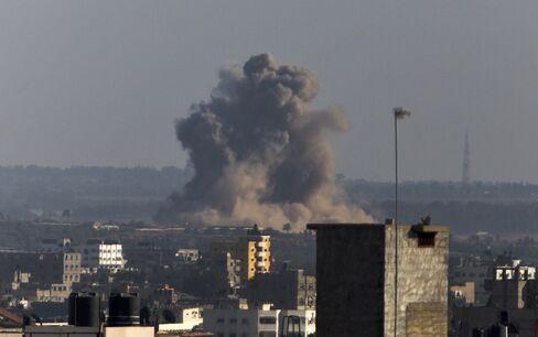 Israeli Air Strike on Gaza