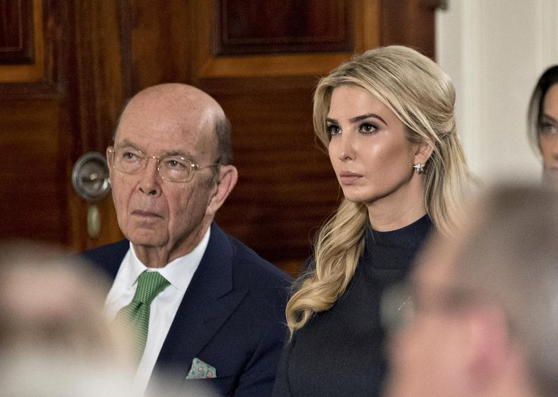 Wilbur Ross and Ivanka Trump Workforce Advisory Board IACMI Members Lockheed Martin UT Siemens