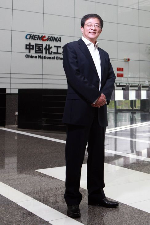 Ren Jianxin, Chairman of ChemChina.