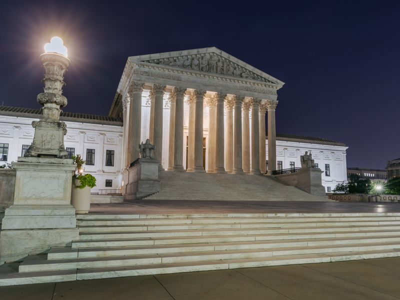 U.S. Supreme Court As It Prepares To Issue Final Opinions Of Its Term