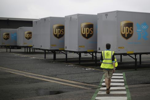 UPS Hurt by Slowdown in Manufacturing in Asia, Brutto Says