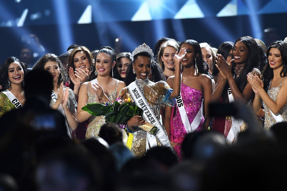Image result for South African crowned Miss Universe 2019
