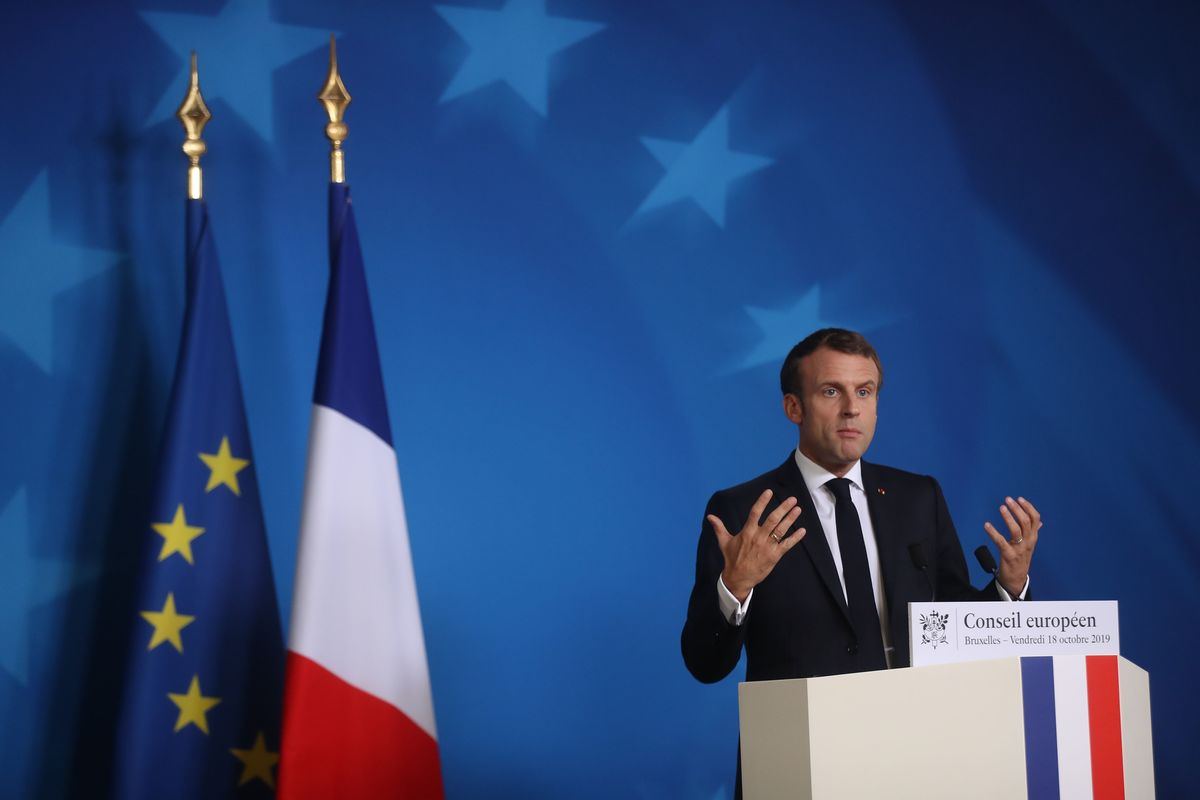 Emmanuel Macron Has an Algorithm for Taking Control of Europe