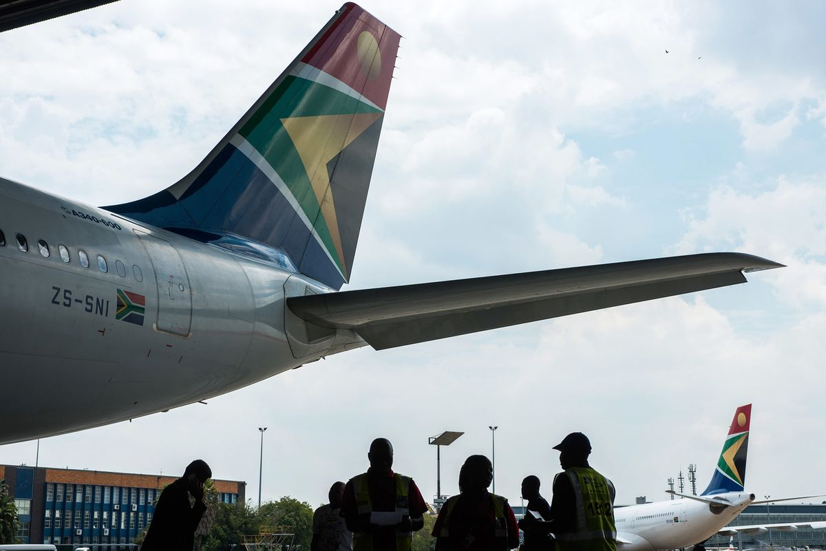 Airlines in South Africa Grounded Jets and Big Question Is Why
