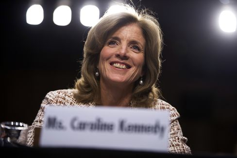 U.S. Ambassador to Japan Nominee Caroline Kennedy