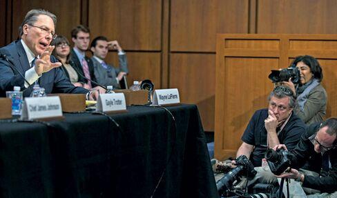 LaPierre testifies before the Senate Judiciary Committee