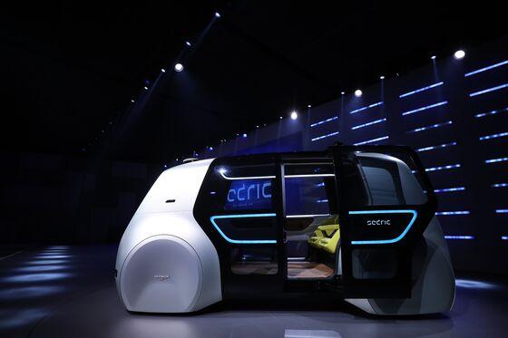 VW Considers Sharing Autonomous-Car Tech to Defray Development Costs