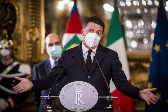 Italy's Renzi Could Back a New Government to Avoid Elections