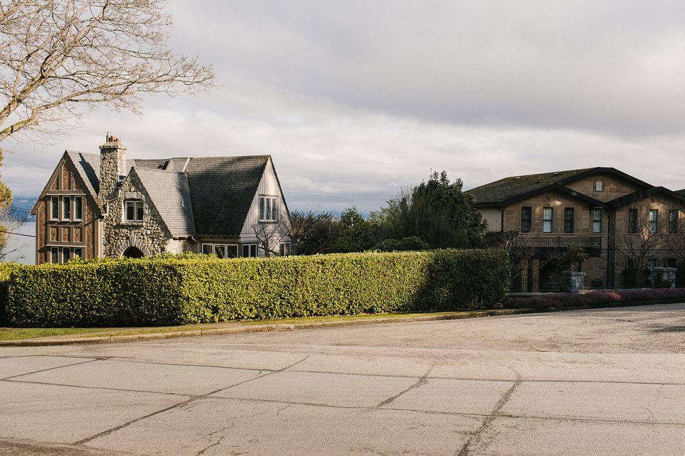 Homes in West Point Grey, one of the most expensive neighborhoods in Vancouver.
