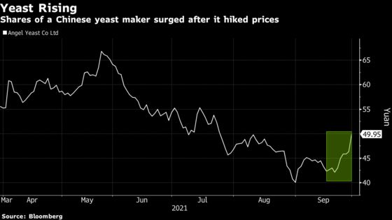 A Yeast Company in China Sees Its Stock Soar After Raising Prices