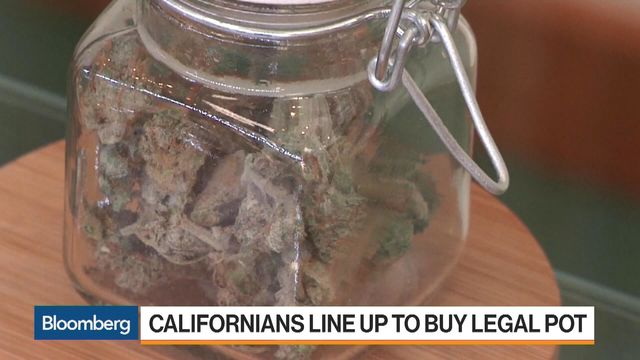 California Legalization Has Canadian Pot Stocks Smoking