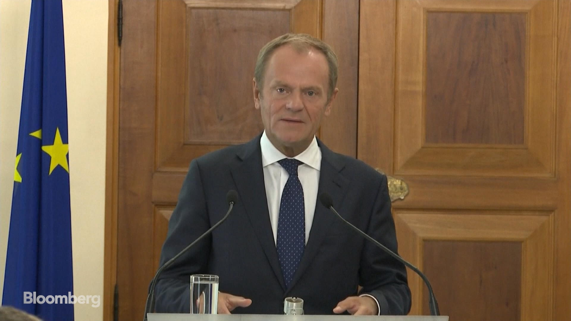 European Council President Donald Tusk Sees 'Promising' Signals for Brexit Deal