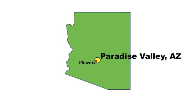 Most Expensive Suburb in Arizona: Paradise Valley