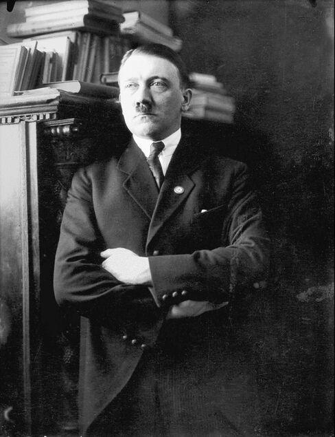 Adolf Hitler, Former Leader Of The German Reich