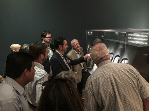 San Francisco's RedBar group has gained a huge amount of traction in a very short period of time. Last Fall the group was fortunate enough to be toured around the Breguet: Art and Innovation in Watchmaking exhibit in San Francisco by Emmanuel Breguet himself (pictured here).