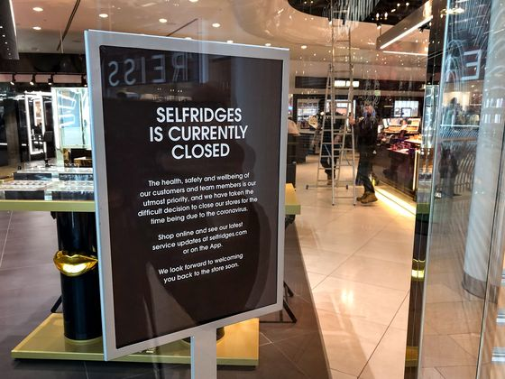 Europe's Retailers Grapple With Biggest Disruption in Decades