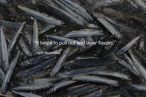 Anchovies.