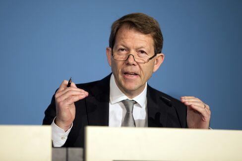 Swiss National Bank Governing Board Member Fritz Zurbruegg