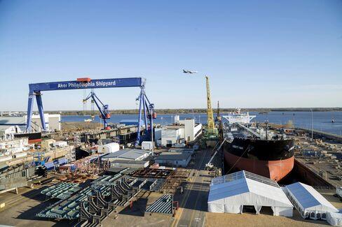 The Aker Philadelphia Shipyard