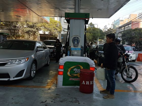Drivers Running on Empty Say Mexico Must Fix Fuel Shortage