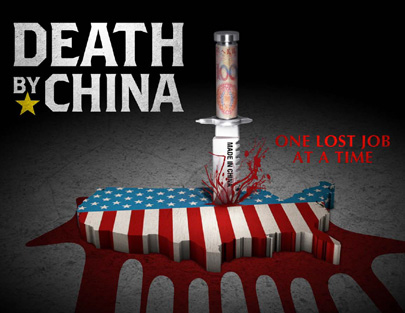 Poster for the movie 'Death By China'