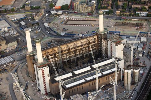 Campaigning before the U.K. national election in May hurt sales at the Battersea Power Station project