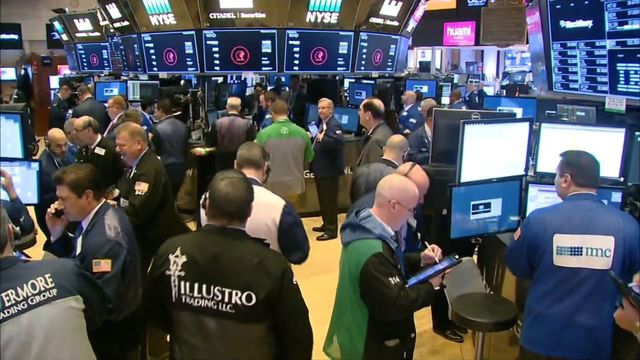 Stocks end wild day with 4% drop; S&P, Dow enter correction territory