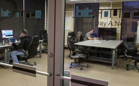 Workroom at BitSource