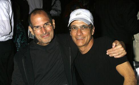 Apple Co-Founder Steve Jobs & Producer Jimmy Iovine