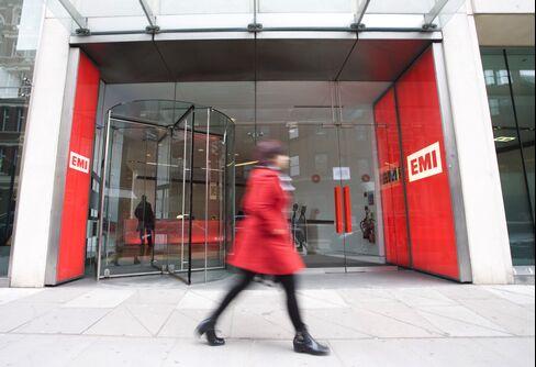 The EMI Music headquarters in London