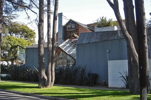 Frank Gehry's own house, Santa Monica, Calif., 1978.