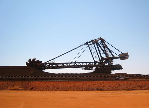 The Fortescue Metals Group iron ore