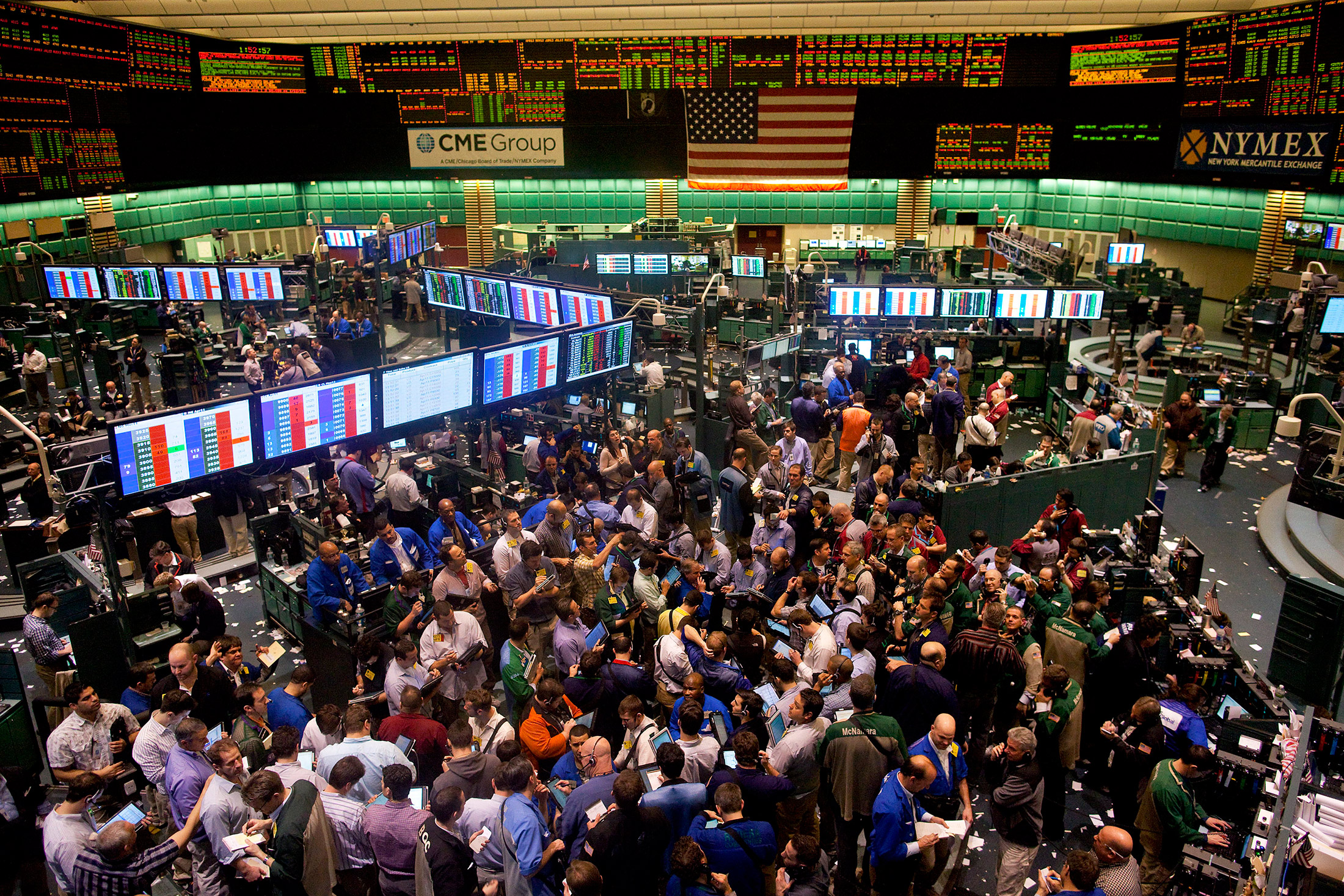 New York Chicago Traders Forced To Quit Pits Move Next