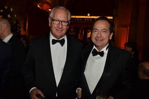 Daniel Brodsky and John Paulson