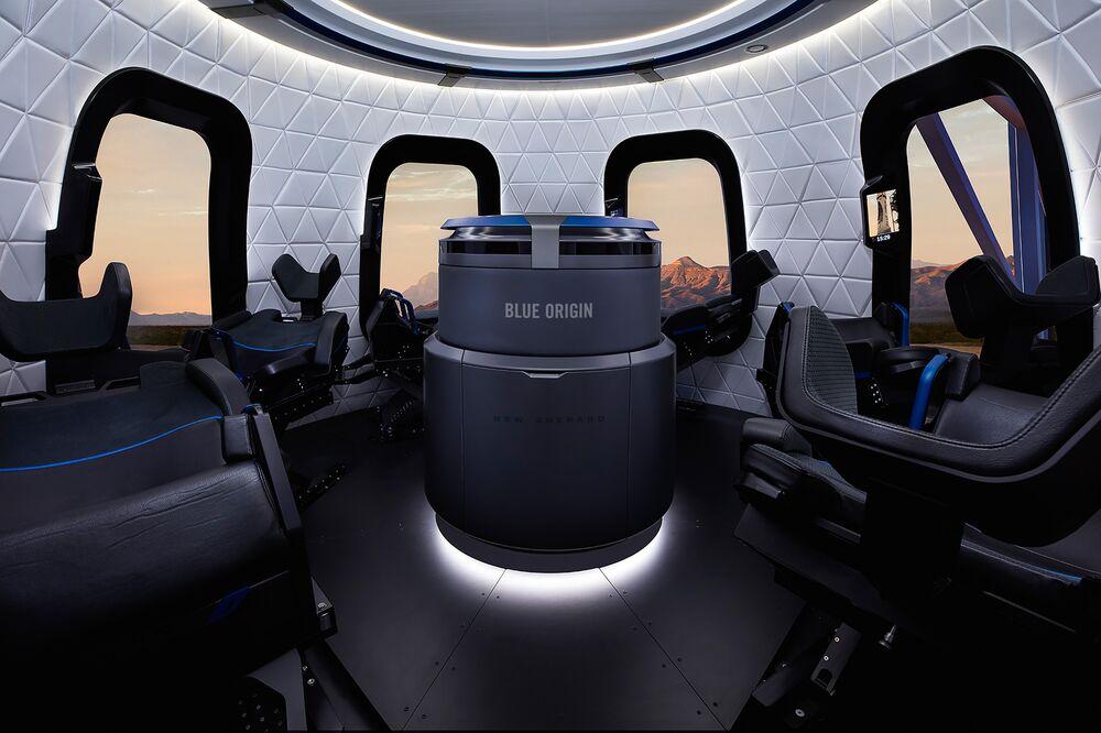 Seat on Jeff Bezos's Blue Origin Space Flight Sells for  Million