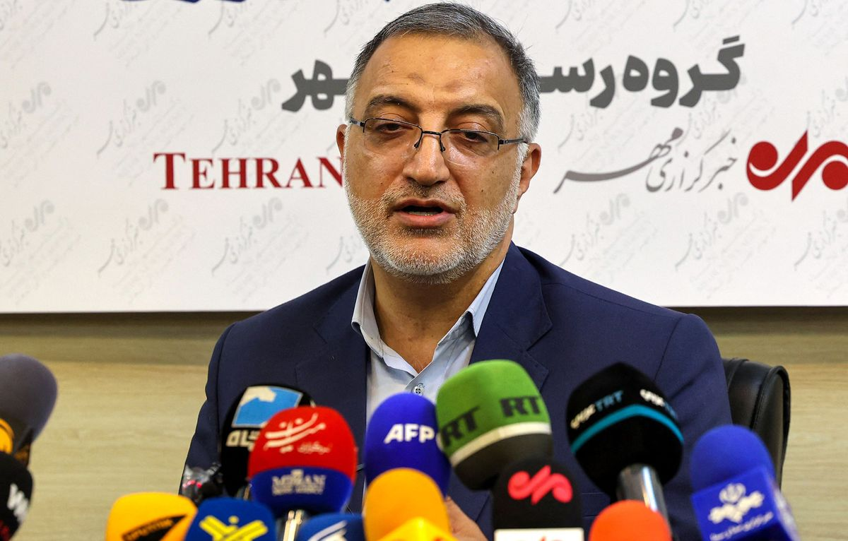 Tehran's New Mayor Is Staunch Hardliner Opposed to Nuclear Deal