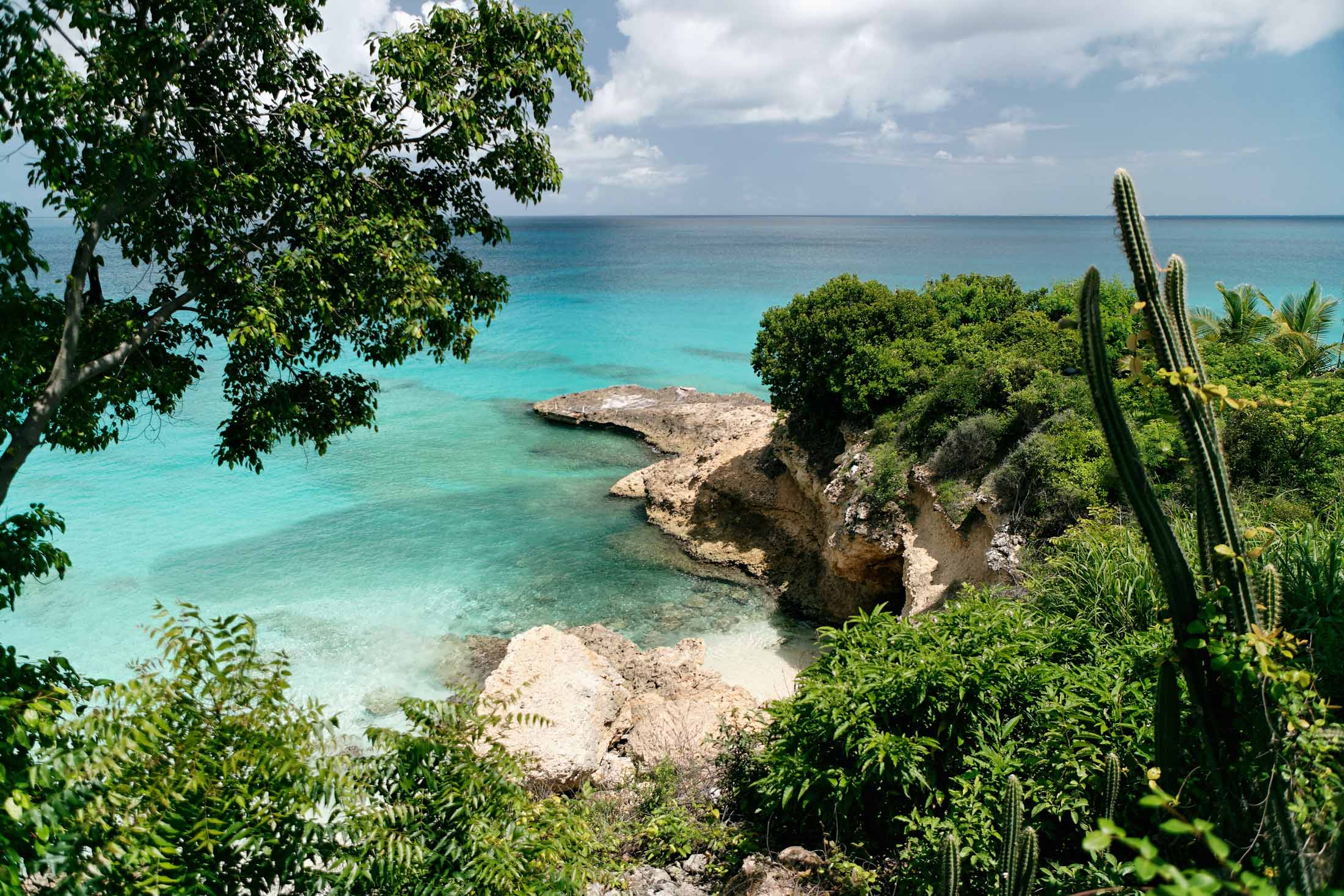 Coastline of Anguilla , Lesser Antilles