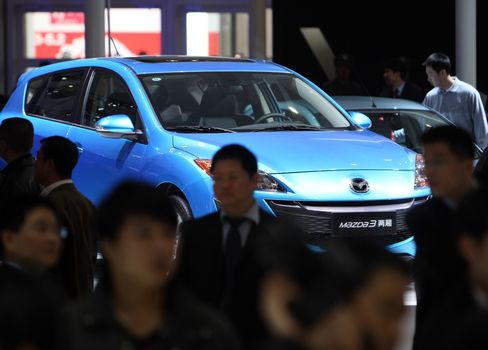 Mazda China Sales Tumble to 19-Month Low on Anti-Japan Protests