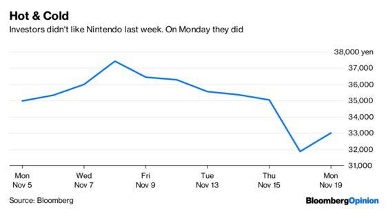 Nintendo Investors Need to Netflix. And Chill