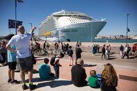 Biggest Cruise Ship Of The World Presentation in Malaga