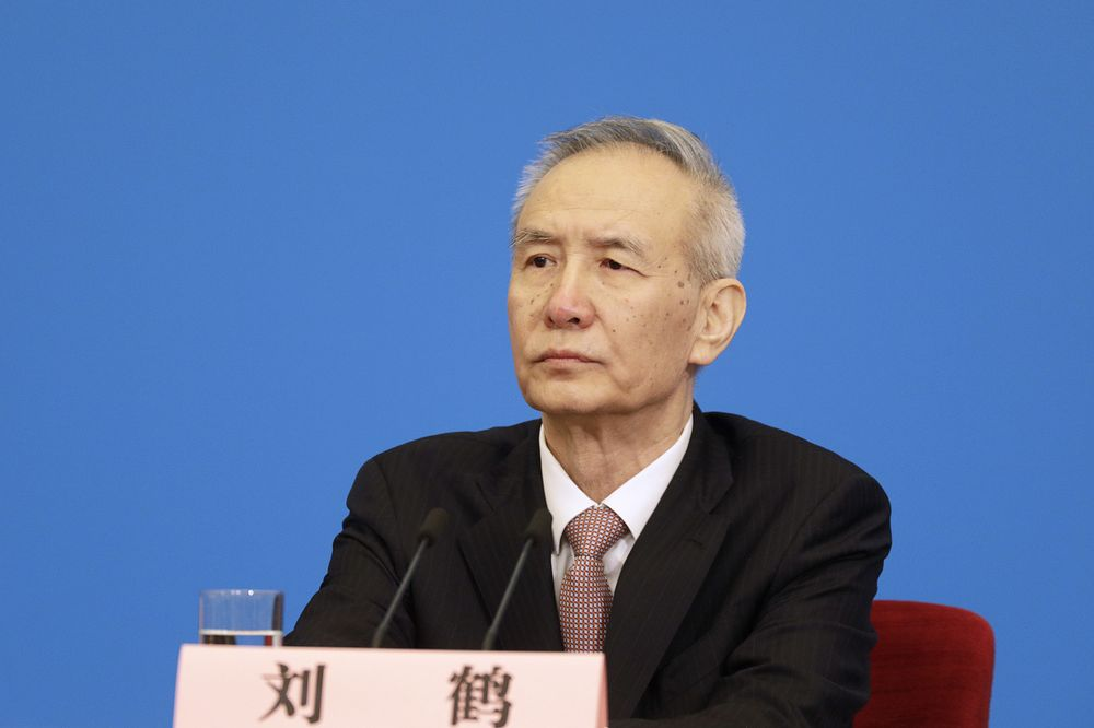 Image result for Liu He, bloomberg, pictures