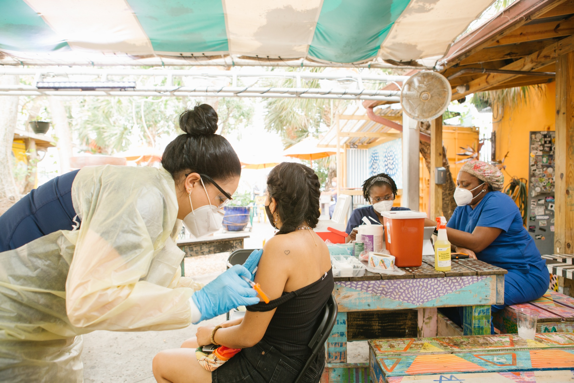 Wynwood Bar Offers Covid-19 Vaccinations With Complimentary Drinks