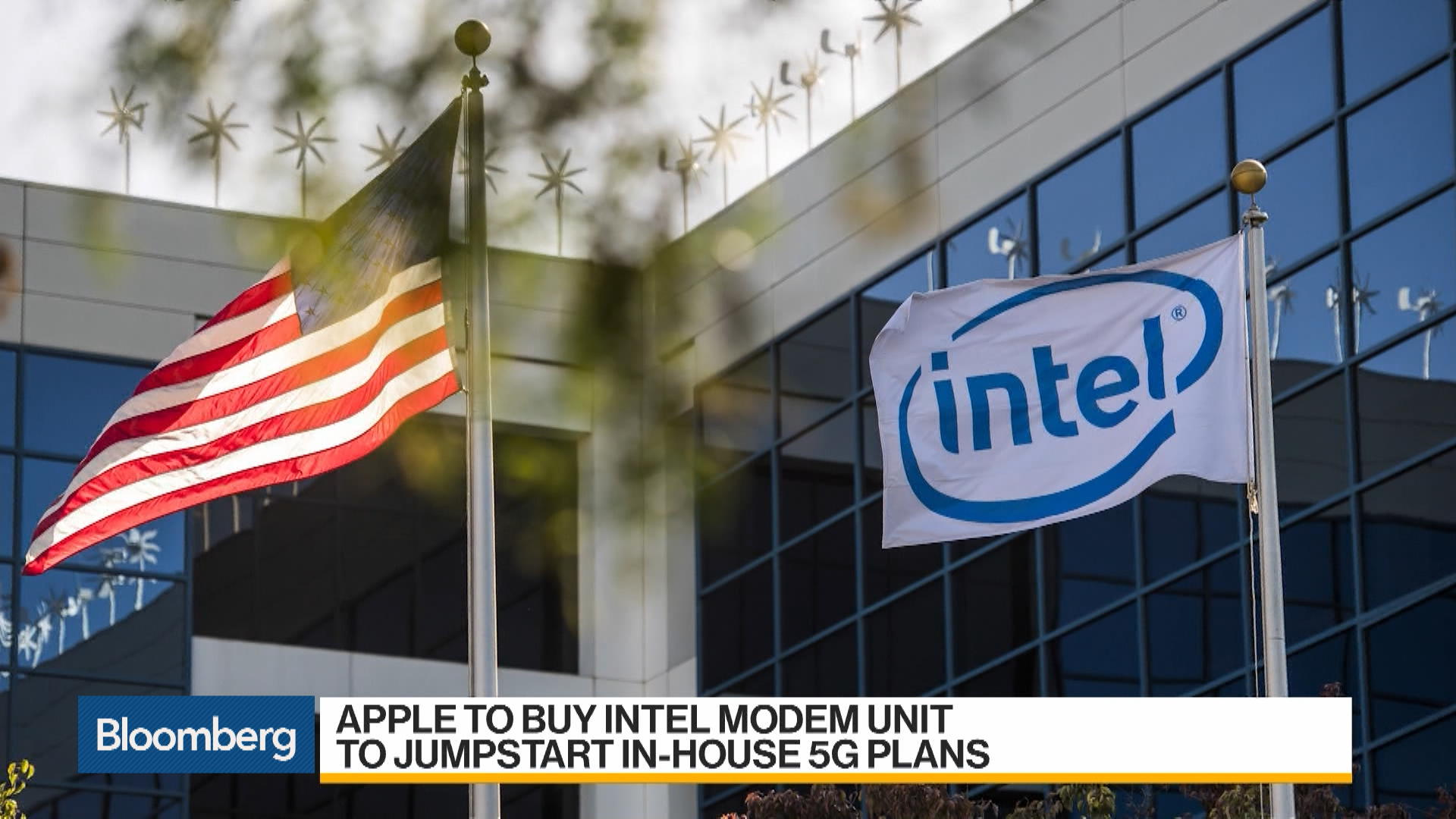 Apple (AAPL) to Buy Intel's (INTC) Modem Unit - Bloomberg