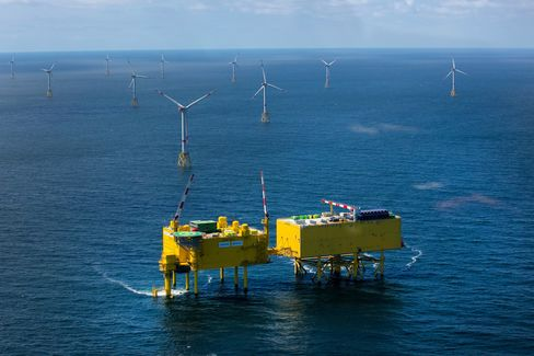 Off Shore Wind Farm Operations As German Renewable Expansion Continues