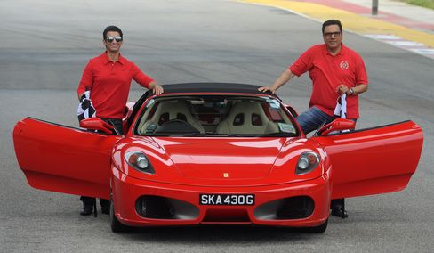 Ferrari Goes West to Hiroshima for Japan Supercar Buyers