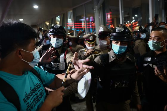 Thai Pro-Democracy Groups Vow to Intensify Protestsas Leaders Charged